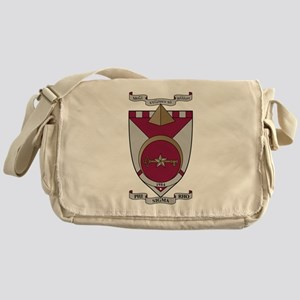 Phi Sigma Rho Crest Messenger Bag