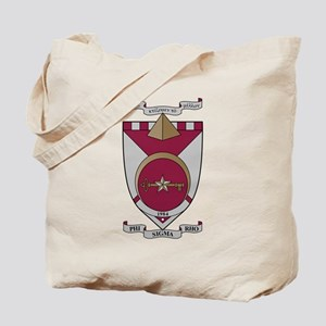 Phi Sigma Rho Crest Tote Bag