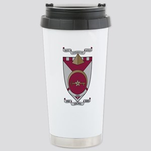 Phi Sigma Rho Crest Stainless Steel Travel Mug