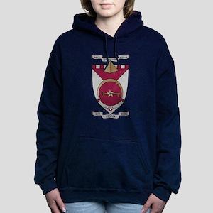 Phi Sigma Rho Crest Women's Hooded Sweatshirt