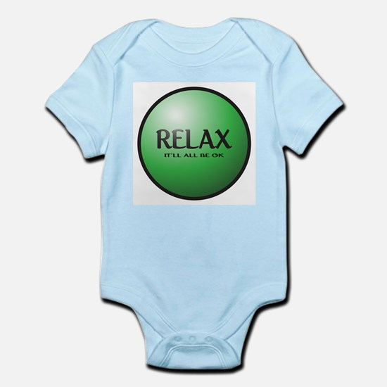 Relax Button Body Suit
