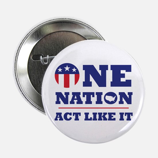 """One Nation 2.25"""" Button (10 Pack)"""