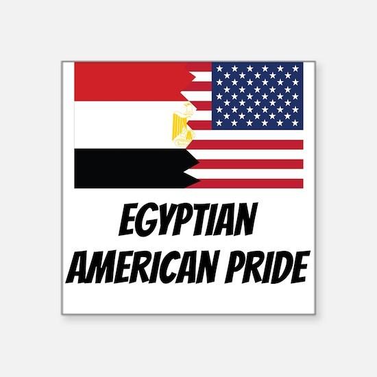 Egyptian American Pride Sticker