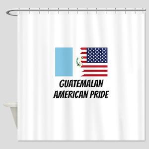 Guatemalan American Pride Shower Curtain