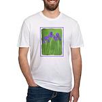 Purple Iris Fitted T-Shirt