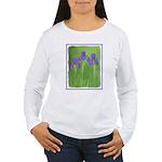 Purple Iris Women's Long Sleeve T-Shirt