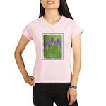 Purple Iris Performance Dry T-Shirt
