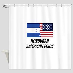 Honduran American Pride Shower Curtain