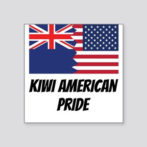 Kiwi American Pride Sticker