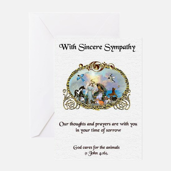 Sympathy Card Front Greeting Cards