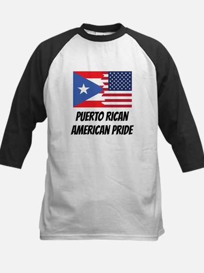 Puerto Rican American Pride Baseball Jersey