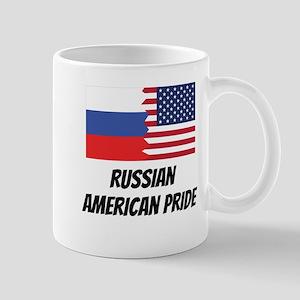 Russian American Pride Mugs