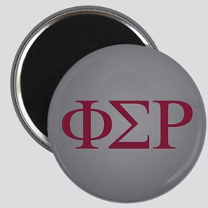 Phi Sigma Rho Letters Magnet