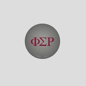 Phi Sigma Rho Letters Mini Button