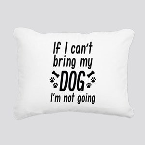 Bring My Dog Rectangular Canvas Pillow