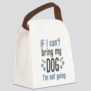 Bring My Dog Canvas Lunch Bag