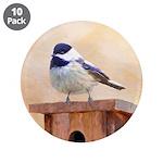 Chickadee on Birdhouse 3.5
