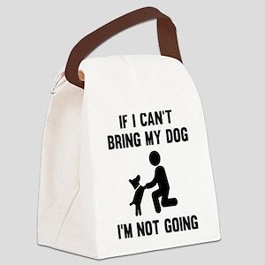 Bring My Dog Canvas Lunch Bag