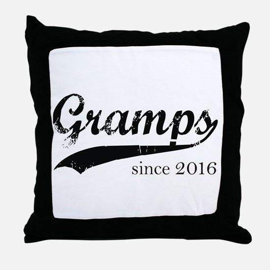 Cute Gramps Throw Pillow