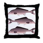 Nile Elephant-snout fish Throw Pillow