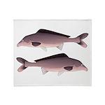 Nile Elephant-snout fish Throw Blanket