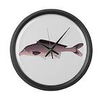 Nile Elephant-snout fish Large Wall Clock