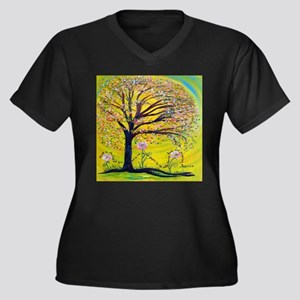 A Tree Planted by the Water Plus Size T-Shirt