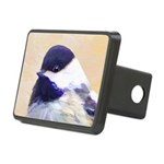 Chickadee Rectangular Hitch Cover