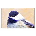 Chickadee Sticker (Rectangle 10 pk)