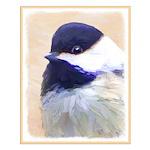 Chickadee Small Poster