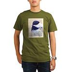 Chickadee Organic Men's T-Shirt (dark)
