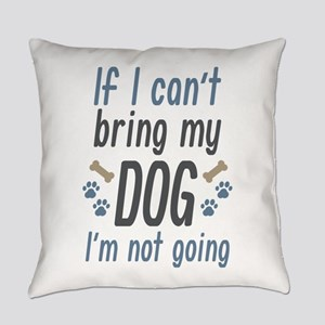BringDogGoing2D Everyday Pillow