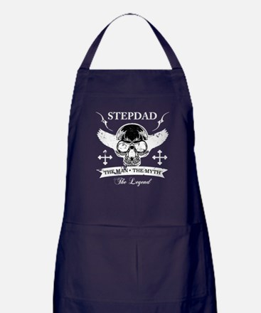 Stepdad Myth Legend Apron (dark)