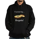 Fueled by Bagels Hoodie (dark)