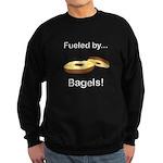 Fueled by Bagels Sweatshirt (dark)
