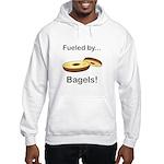 Fueled by Bagels Hooded Sweatshirt