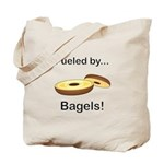Fueled by Bagels Tote Bag