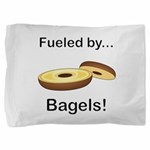 Fueled by Bagels Pillow Sham
