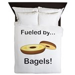 Fueled by Bagels Queen Duvet