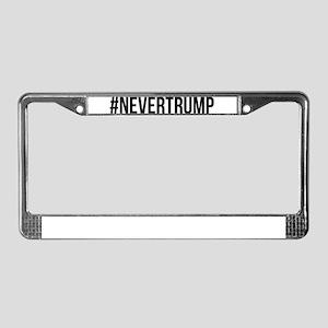 NeverTrump License Plate Frame