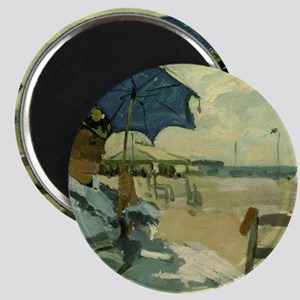 Monet Beach 1870 Magnets