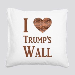 Pro Wall Square Canvas Pillow
