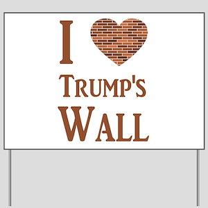 Pro Wall Yard Sign
