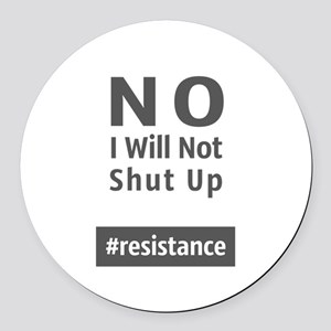 Resistance Round Car Magnet