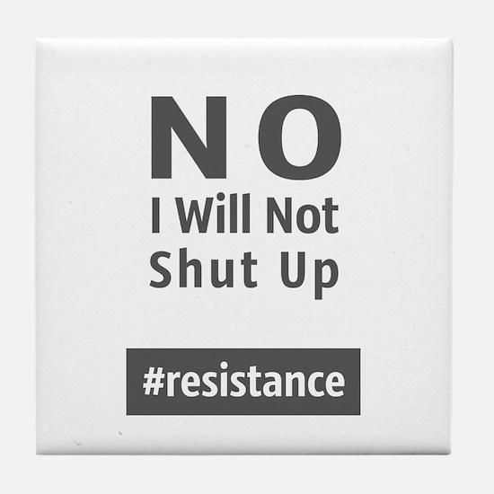 Resistance Tile Coaster