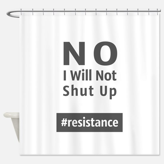 Resistance Shower Curtain