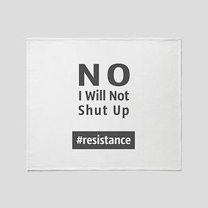 Resistance Throw Blanket