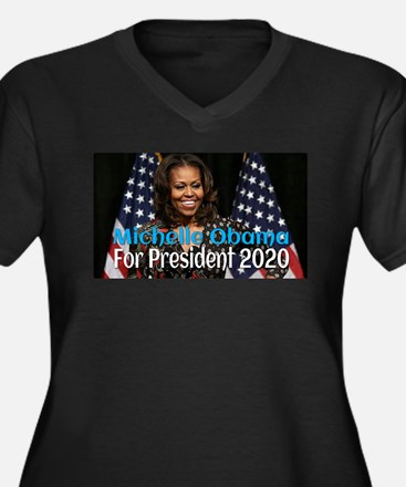 Michelle Obama For President 202 Plus Size T-Shirt