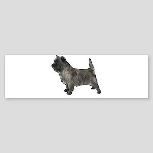Cairn terrier dog Bumper Sticker