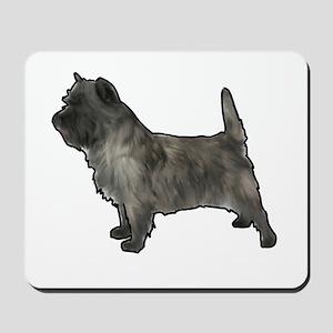 Cairn terrier dog Mousepad